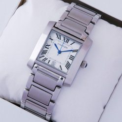 AAA Cartier Tank Francaise W51002Q3 steel watch for men