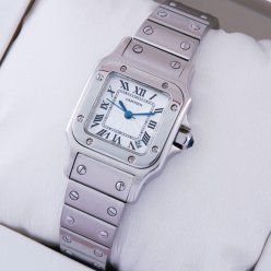 AAA Cartier Santos Galbee stainless steel small watch for women
