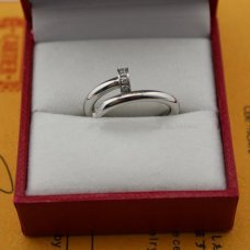 AAA Cartier Juste un Clou diamond ring B4092700 white gold