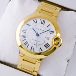 AAA Ballon Bleu de Cartier W69005Z2 large watch18K yellow gold