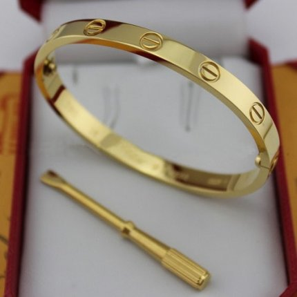 AAA Cartier Love yellow gold bracelet with screw driver B6035516