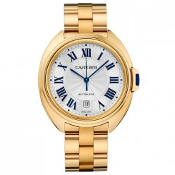 AAA Clé de Cartier 40mm 18K yellow gold watch for men WGCL0003