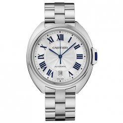 AAA Clé de Cartier 40mm 18K white gold watch for men WGCL0006