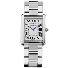 AAA Cartier Tank Solo mens watch replica W5200014 stainless steel