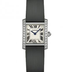 AAA Cartier Tank Francaise diamond ladies watch WE100231