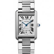 AAA Cartier Tank Solo mens watch replica W5200028 stainless steel