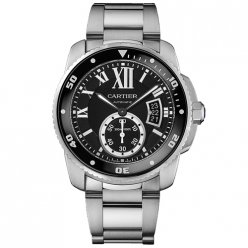 AAA Calibre de Cartier Diver watch W7100057 stainless steel