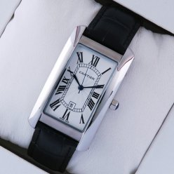 AAA Cartier Tank Americaine mens replica watch W2603256