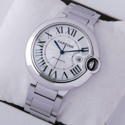 AAA Ballon Bleu de Cartier W69012Z4 automatic large watch stainless steel