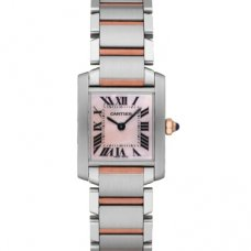 AAA Cartier Tank Francaise womens watch W51007Q4 two-tone