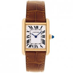 AAA Cartier Tank Louis 18K yellow gold ladies watch replica W1529856