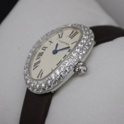 AAA Cartier Baignoire swiss diamond watch for women stainless steel