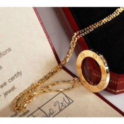 AAA Cartier Love yellow gold necklace B7014200 with pendant
