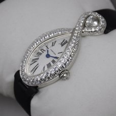AAA Cartier Baignoire swiss diamond ladies watch stainless steel