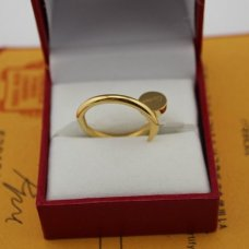 AAA Cartier Juste un Clou ring replica B4092600 yellow gold