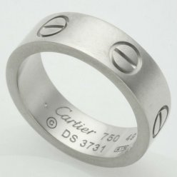 AAA Cartier Love replik ring B4084700 in Weißgold