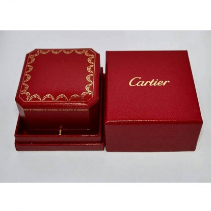 Luxury original Cartier Ohrringe box Geschenkverpackung Set