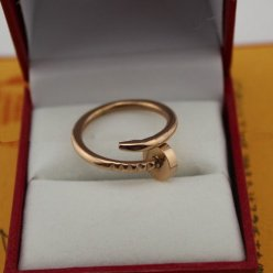AAA Cartier Juste un Clou Ring B4092500 Rotgold