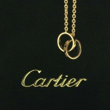 AAA Cartier Love or jaune collier à chaînes B7212400