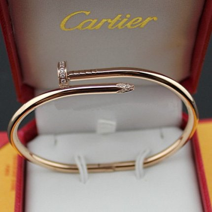 AAA Cartier Juste un Clou Bracelet de diamants B6039015 or rose