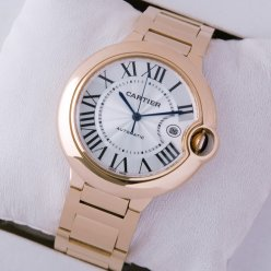 AAA Ballon Bleu de Cartier W69006Z2 montre automatique Or rose 18 carats