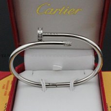 AAA Cartier Juste un Clou Bracelet de diamants B6037915 or blanc