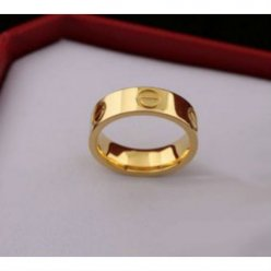 AAA Cartier Love replique bague en or jaune B4084600