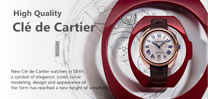 replik cartier cle watches