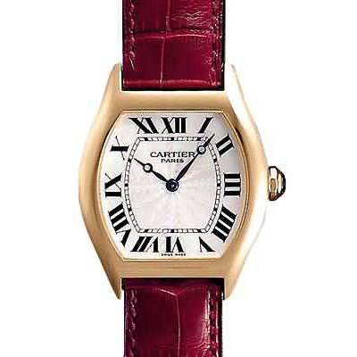 AAA Cartier Tortue small diamond ladies watch 18k yellow gold