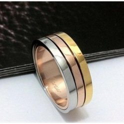AAA Trinity de Cartier 3 ori Wedding band replica B4052100