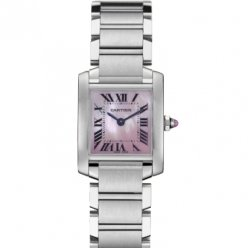 AAA Cartier Tank Francaise donne acciaio orologio W51028Q3