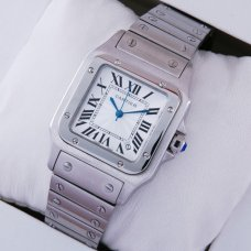 AAA Cartier Santos Galbee stainless steel midsize watch for men and women