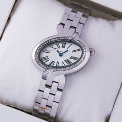 AAA Delices de Cartier diamond watch for women 18K white gold WG800004