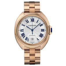 AAA Clé de Cartier 40mm 18K pink gold watch for men WGCL0002